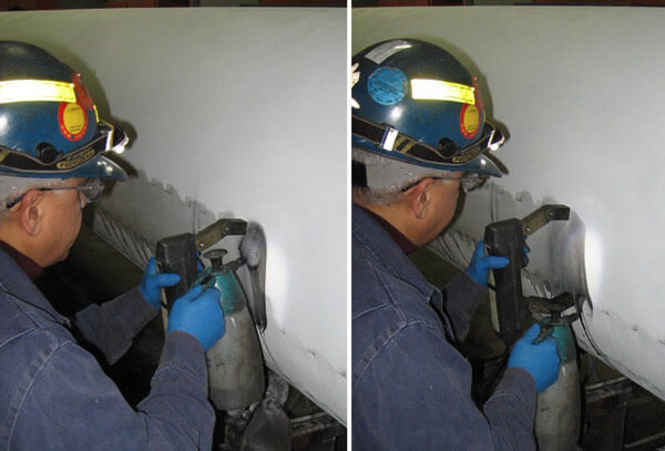 Wet Magnetic Particle Inspection MPI