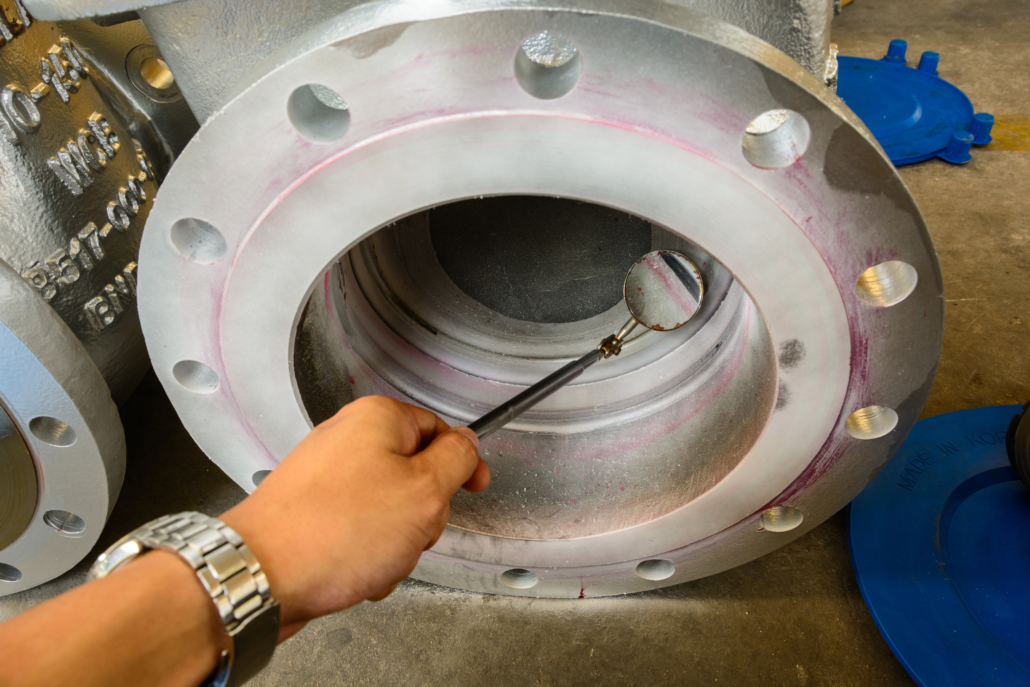 Visual Inspection and Liquid Penetrant Testing